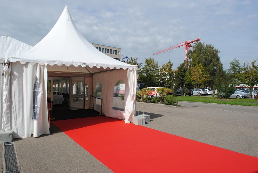 TEPPICH – Huber Event AG Zeltvermietung